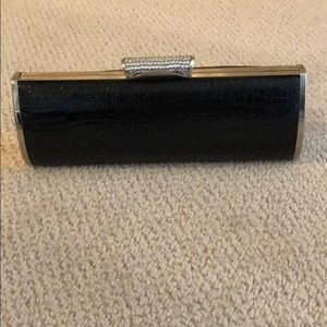 Black crocodile 🐊 evening clutch